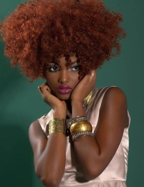 tangletalk:  Tangle Talk:  Hair color explosion…that girl is on fire!