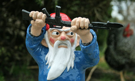 guardian:  Game of gnomes The Royal Horticultural Society has lifted its century-old ban on gnomes for this year's Chelsea flower show. Here's our pick of the best – from classic to combat – to kick off your collection Photograph: Shawn Thorsson/Etsy