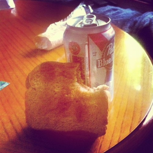 Pbr and pbj haha @ashspina