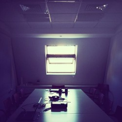 The One With The Window. #office #workspace #window #roof #meetingroom