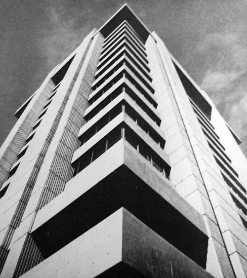 p—astiche:  Chicago's Blue Cross-Blue Shield Building - 1969