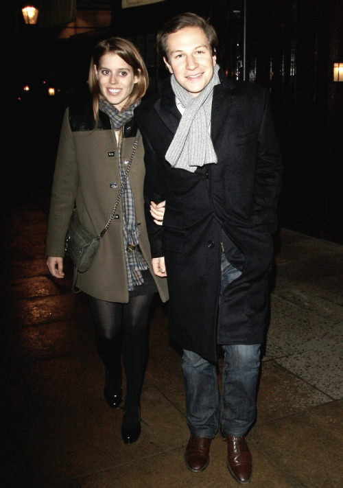 duchessoftravel:  1 of (?) pictures of Princess Beatrice and Dave