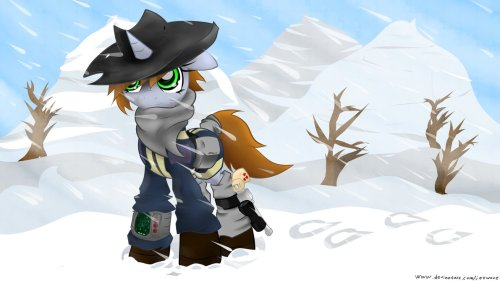 -Fallout Equestria 2-Winterpip by Jetwave If a sequel was going to happen, we should totes call it Radioactive Boogaloo.