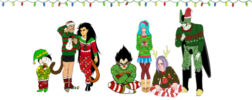 ask-miraitrunks:  happy holidays to everyone from the dragonball z ask blogs!