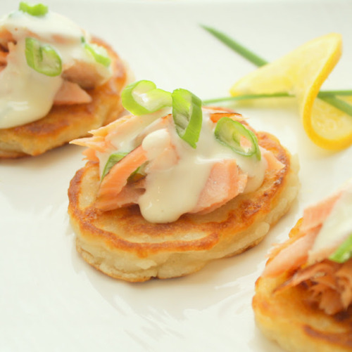 in-my-mouth:  Smoked Salmon Bites