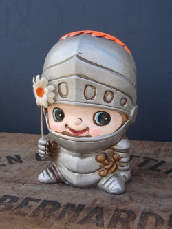 Vintage Knight bank by Inarco- $15.00 SOLD