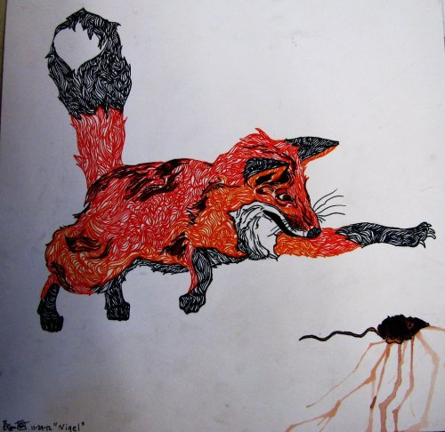 hempyfloyd:  Nigel The happening fox by ~Hempyfloyd