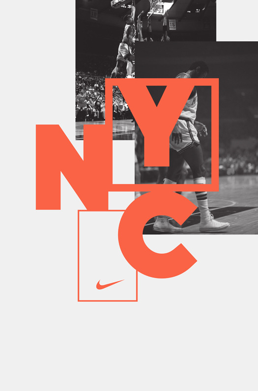 dope-shiettt:  I love this dope shiettt   NYC \ NIKE poster.