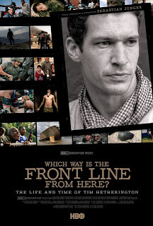 Which Way is the Frontline From Here? A documentary tribute to Tim Hetherington… Two years after his death, Tim Hetherington is the subject of a new HBO documentary, Which Way is the Frontline From Here?, which sheds light on his motivations as a photojournalist and filmmaker, and his untimely death. On 20 April 2011, Hetherington and his colleagues – Guy Martin, Chris Hondros and Michael Christopher Brown – came under attack in Misrata, Libya. Suffering from shrapnel wounds, the award-winning photographer and filmmaker bled out and died on the way to a makeshift hospital. While Junger's documentary opens and closes on that fateful day, the filmmaker, with whom Hetherington worked on the Oscar-nominated Restrepo, attempts to explain, via interviews with his colleagues, friends and family, what made Hetherington a different kind of journalist. Using footage shot by Hetherington and his colleagues, the documentary takes us from Sri Lanka to Liberia and Afghanistan – countries that have influenced the way Hetherington approached the photographic medium.