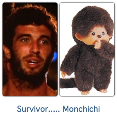 @KellyG5: Hahahaha a Monchichi guest stars on  #Survivor