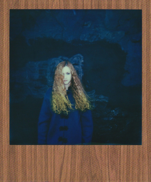tancamera:  Impossible Project PX 680 American Woods Edition Film Self-Portrait Styling by Kimi Selfridge