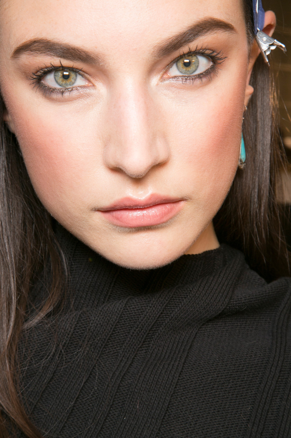Jacquelyn Jablonski backstage at Versace Fall Winter 2013 | MFW