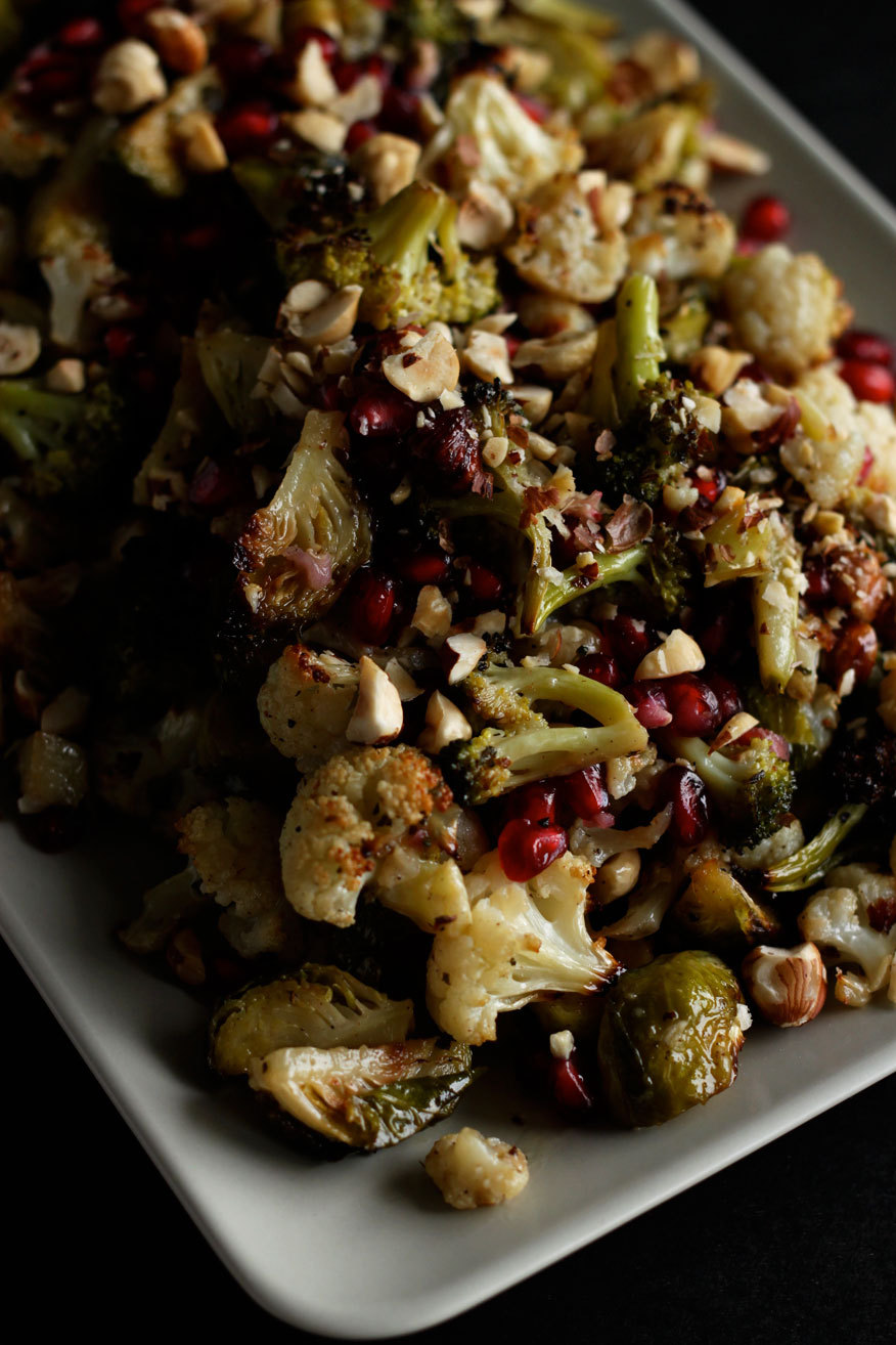Gluten Free (via oregano roasted brassicas with maple dijon dressing » The First Mess)
