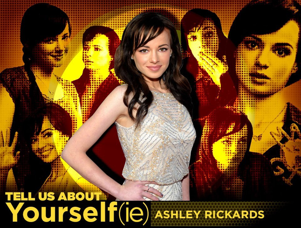 buzzfeedceleb:  Tell us about yourself, Ashley Rickards!  We're just gonna keep it real Awkward around here today if that's okay with you guys.