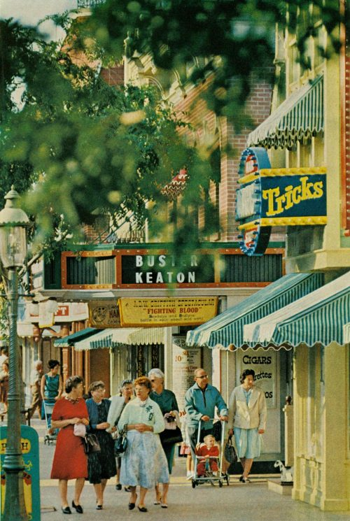 Main Street, Disneyland National Geographic, August 1963