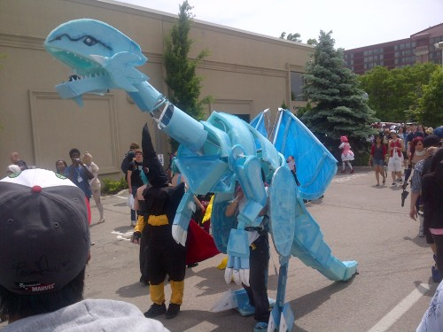 renagadeshadow:  Blue Eyes White Dragon at Anime North 2012  (So excited for Anime North 2013)