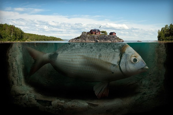 anythingphotography:  Mind-Bending Photo-Manipulations by Erik Johansson Erik Johansen's pictures are worth more than a thousand words. The German born, Swedish based photographer enjoys nothing more than manipulating the mind with his tantalizing visual imagery. His vivid imagination and surreal forms create brilliant pictures of surreal moments, all with a hint of the believable. Originally a computer engineering student, Johansson currently works on personal projects as well as commissioned ones. (Continue Reading)