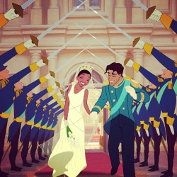 randomcamo95:  PatF Fact: Tiana and Naveen are the first Disney Princess couple to have wedding rings.