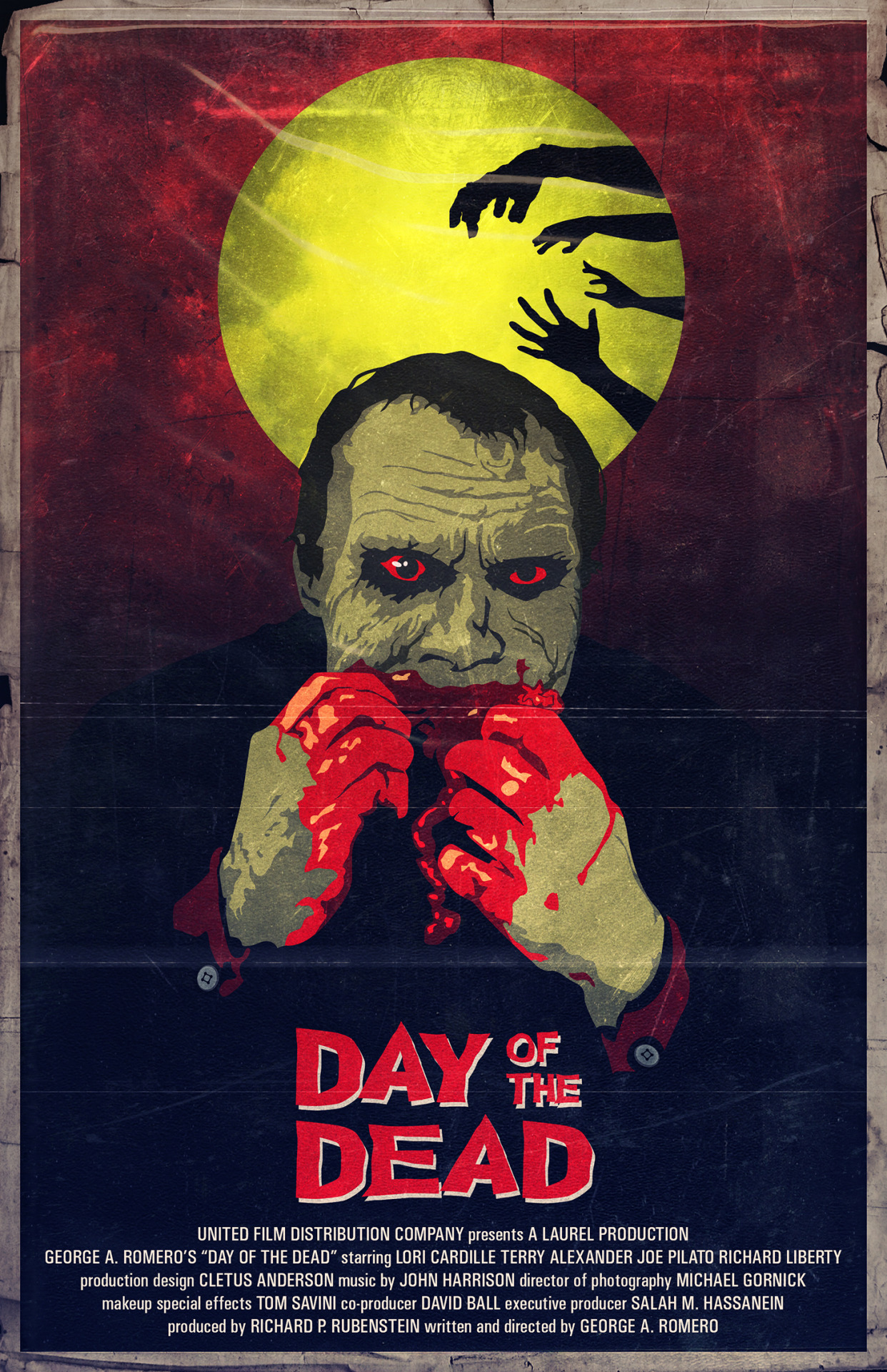 Today is el Día de los Muertos, and every year on this day I watch DAY OF THE DEAD (1985) from George A. Romero.