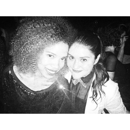 idonthear:  Those Disco Inferno Nights. #bestfriends #love #afro #fashion #disco #retro