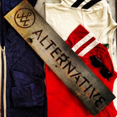 Brand new Alternative Apparel for Men now in! #alternativeapparel #toronto (at Leigh And Harlow)