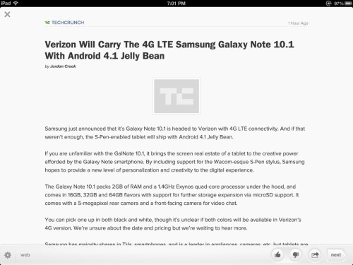 **The 4G LTE Samsung Galaxy Note 10.1 w/ Android 4.1 Jelly Bean by Verizon **  They should make the name a little longer, or at least add another .1 somewhere in there.