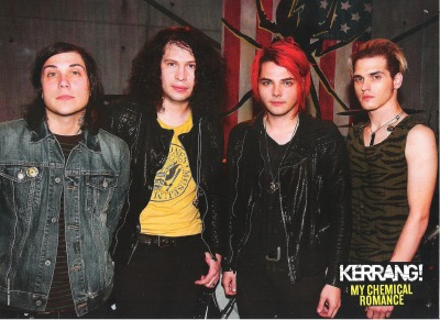 My Chemical Romance poster in this weeks Kerrang!