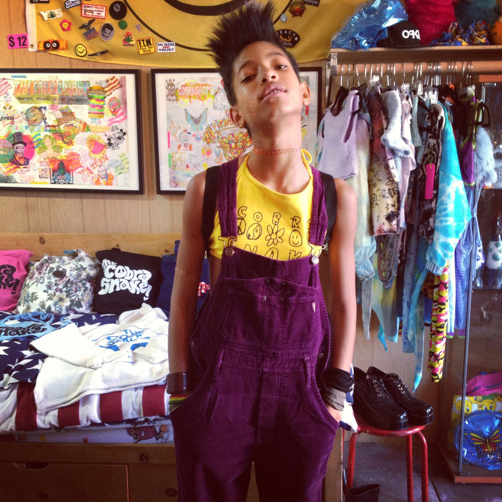 thecobrashop:  WILLOW SMITH SWAG IN OUR TEEN SPIRIT HALTER TOP!