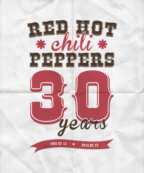 "On this day in 1983, the Red Hot Chili Peppers played their first concert at the Rhythm Lounge in Hollywood.""I had a bass line and had Hillel do guitar to it, and then we went to the show and played and people love it. We had a whole choreographed dance thing. We did our dance and then played ""Out In L.A."" and it was pretty fucking explosive. We did it and it was just BAM! From the first note. A five-minute set. Anthony came with a boom box and the dance, and then the song — it was like two minutes. Sometimes band just sort of creep into it and find their way, and bam — for us it was from the get-go.""  — Flea"
