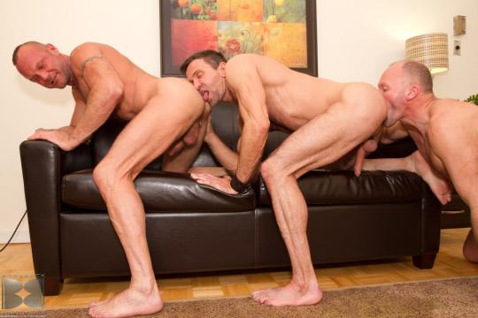 Rim Train Gay Sex Position.  Paul Stag  rims  Matt Sizemore  who rims  Chad Brock.