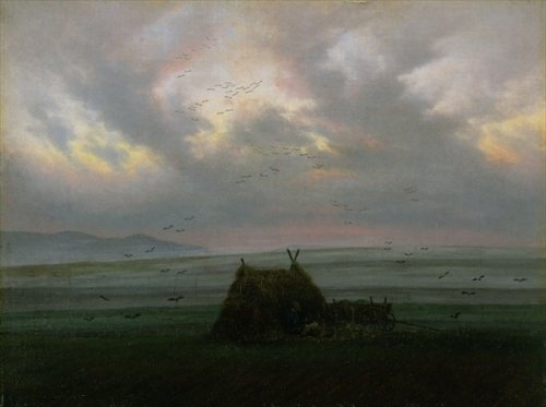 Waft of Mist. c. 1818-20. by Caspar David Friedrich