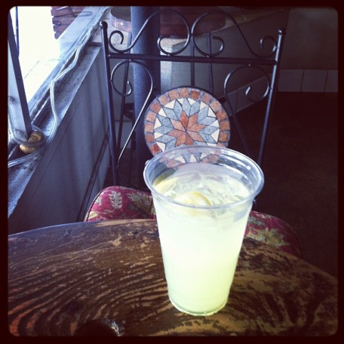Fresh squeezed lemonade!! (at Cafe Ten Forward)