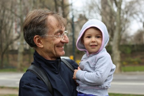 "humansofnewyork:  ""What's the best part about being a grandfather?"" ""I get to love her so much."""