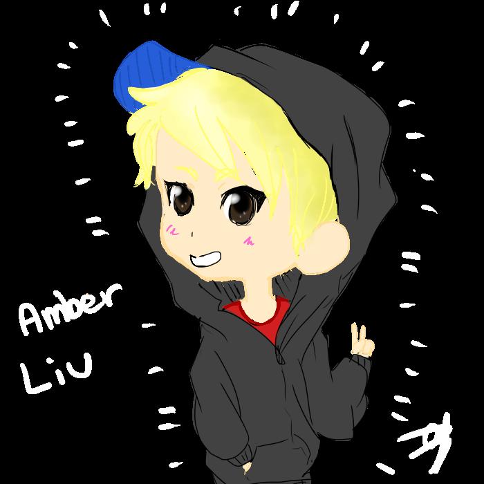 Fx Amber Liu Kpop Drawing Fanart Chibi Art