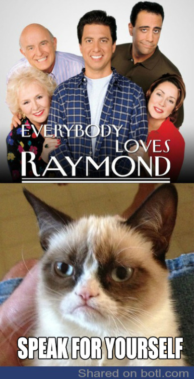botlking:   ALMOST Everybody Loves Raymond (♪♫ Click link for music ♪♫)