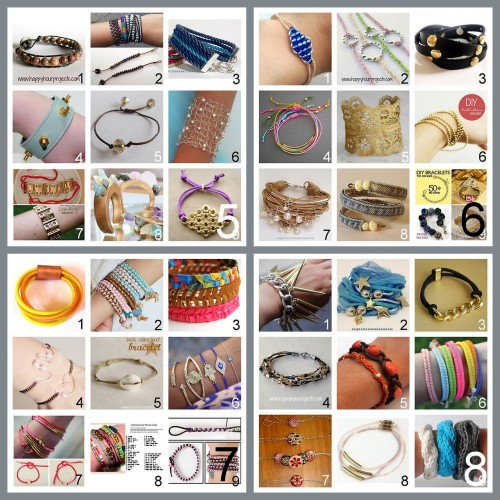 truebluemeandyou:  A Roundup of Bracelet Roundups Part 2. Part 1 is here. True Blue Me & You DIY Gift Guide: Bracelets Part 5 - 8. For other roundups of DIY gifts go here: truebluemeandyou.tumblr.com/tagged/diy-gift-guide Part 5 here. Part 6 here. Part 7 here. Part 8 here.