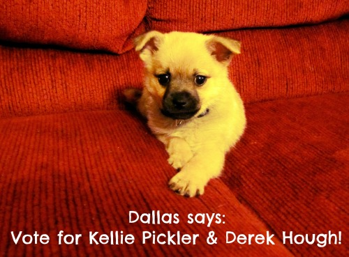 Dallas says: Vote for Kellie Pickler & Derek Hough to be your Dancing With The Stars: Season 16 Champions!