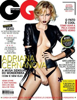 Adriana for GQ Portugal