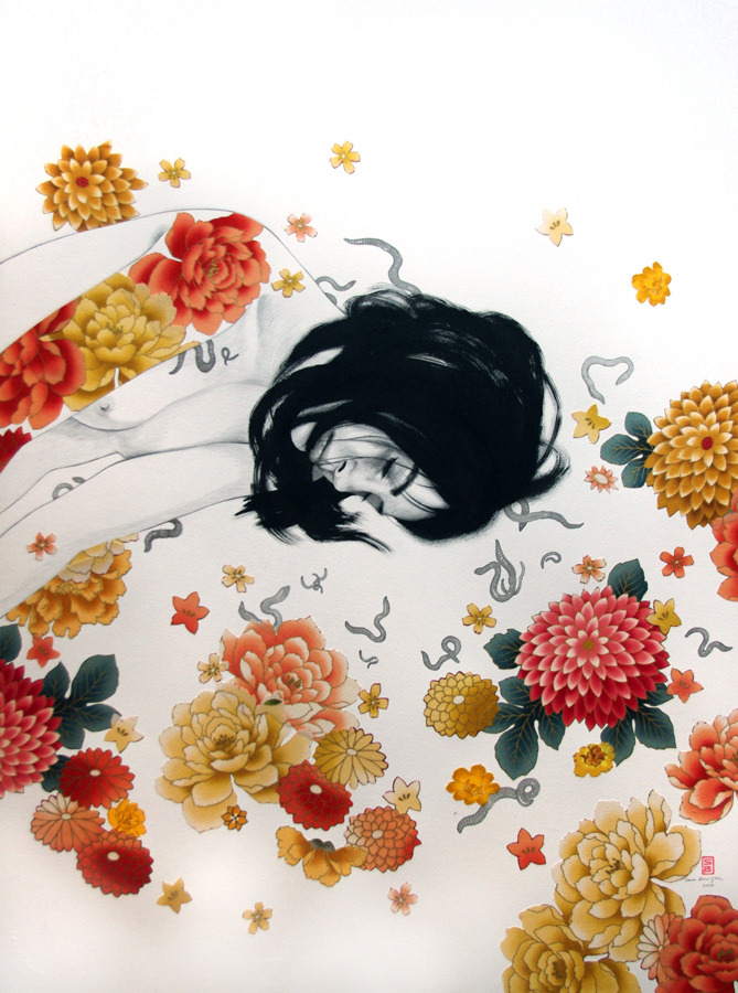 supersonicelectronic:  Stasia Burrington. Paintings by Stasia Burrington: Read More