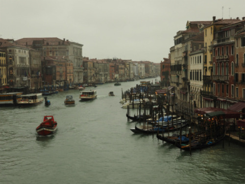 (via 霧雨に煙るカナル・グランデ, ヴェネチア Part6 /  Venice Part6 - Canal Grande in the misty rain)