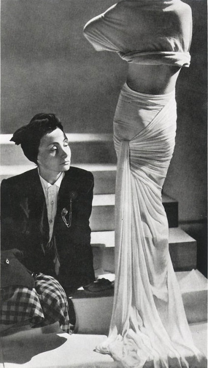 omgthatdress:  Madame Grès March is Woman's History month, so all throughout March we'll be highlighting awesome woman designers!