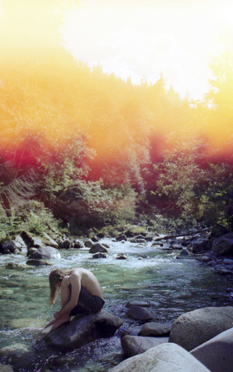 Caine at Slouquet Creek, 2009 | Jennilee Marigomen