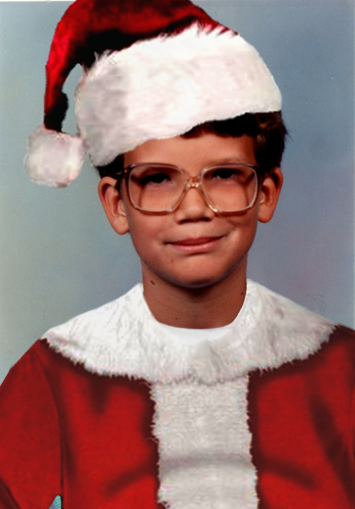 If I remember correctly it was a hard year to find santa suits in anyone's sizes… (Sorry Hank. I don't know what I have done.)