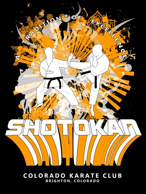 Here's a shirt design I did for a local karate dojo recently. I like how it turned out, wanted to share.