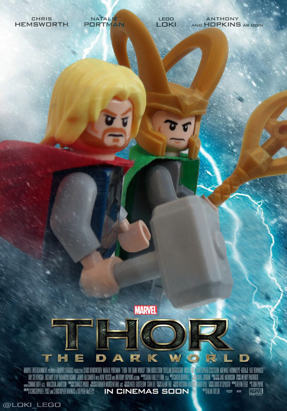 lego-loki:  New Thor The Dark World poster released.