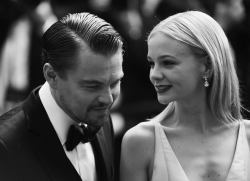 Carey Mulligan and Leonardo DiCaprio at Great Gatsby Cannes premiere