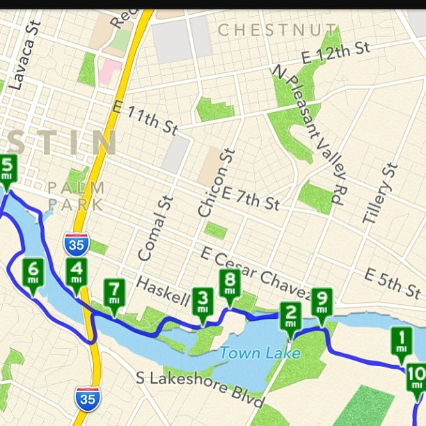 Forgot to post my run from last night. It was one of the most enjoyable ones in a while. Averaged 10.56/mile over 10.69 miles. I can do better next time.