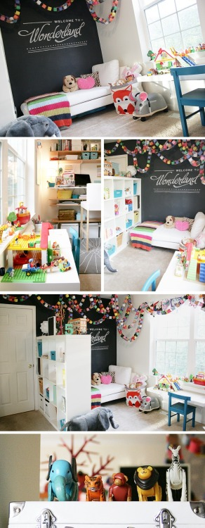 playroom from @JenniferPebbles (more at source)