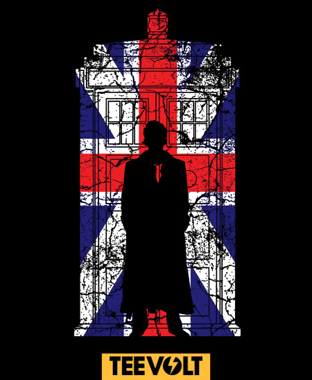 geeksngamers:  10th Doctor - by Bomdesignz On Sale for 5 Days at Teevolt