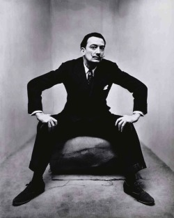 """Salvador Dali In New York"", 1947  By: IRVING PENN…."